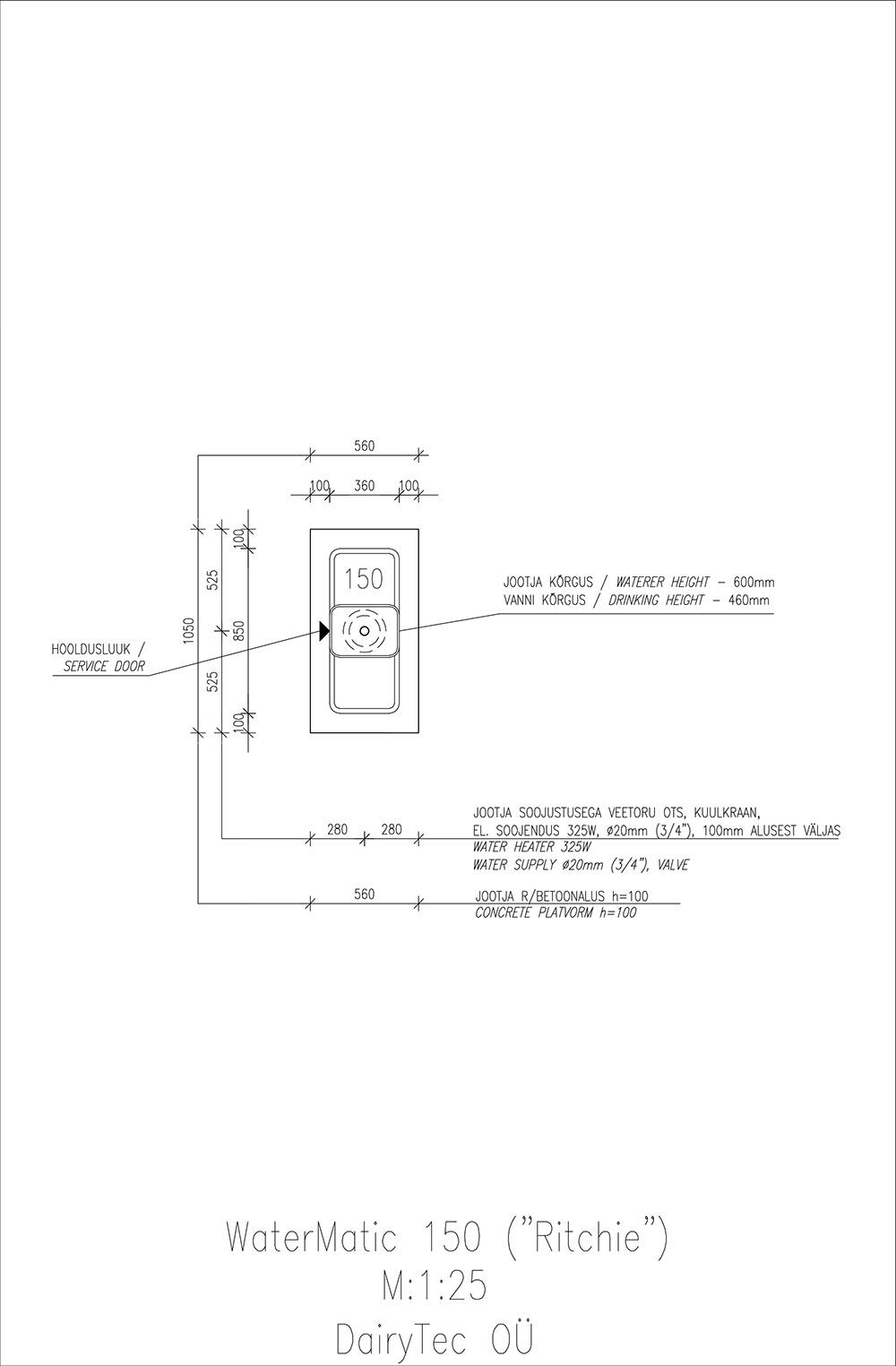 WaterMatic-150-Model