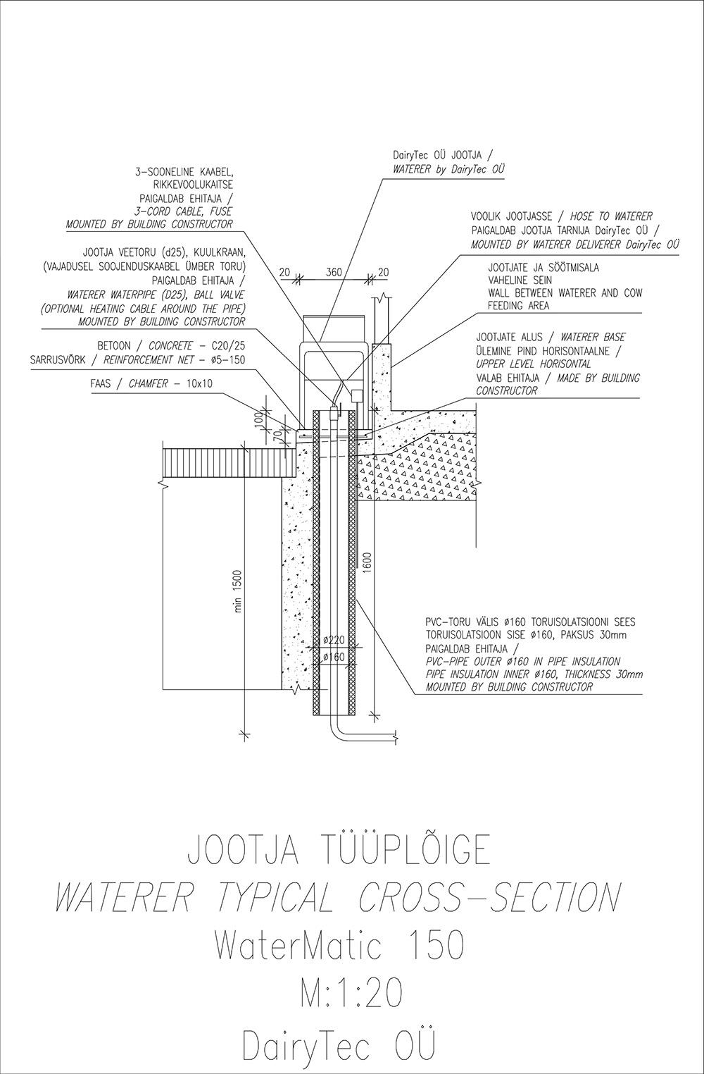 WaterMatic-150-L-Model